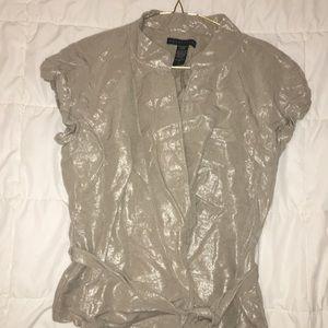 Apostrophe 55% Linen Shimmering Jacket